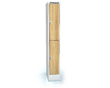 Divided cloakroom locker ALDERA 1920 x 300 x 500