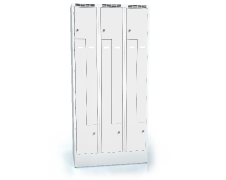 Cloakroom locker Z-shaped doors ALSIN 1920 x 900 x 500