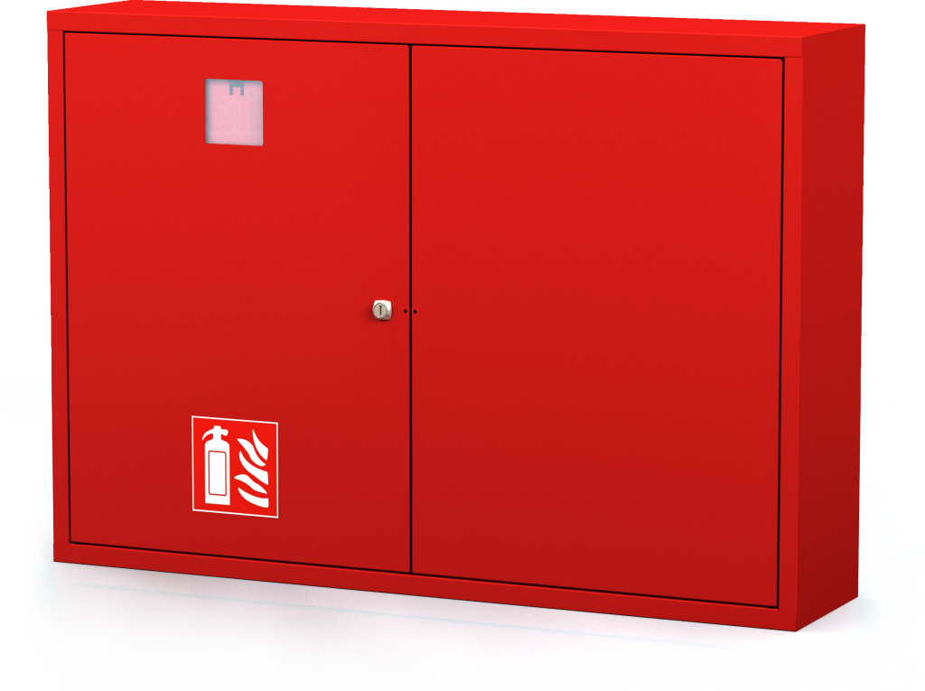 Interior cabinets for fire extinguishers 700 x 1000 x 220