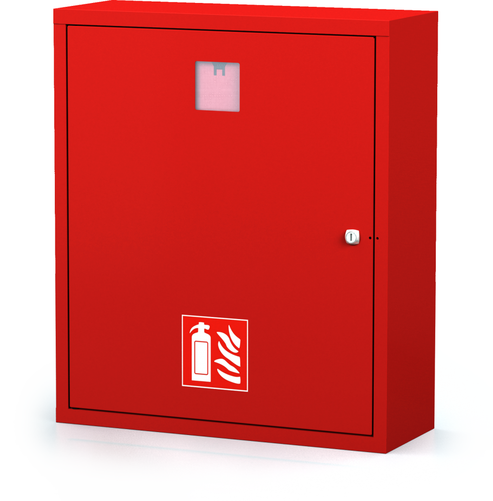 Interior cabinets for fire extinguishers 700 x 600 x 250