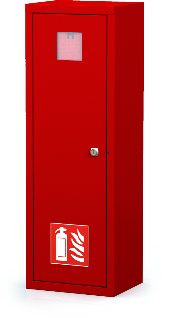 Interior cabinets for fire extinguishers 830 x 280 x 220