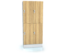 Divided premium lockers ALFORT DD 1920 x 800 x 520