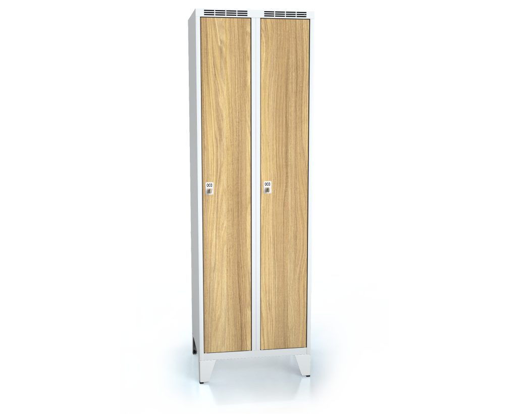 Cloakroom locker ALDERA with feet 1920 x 600 x 500