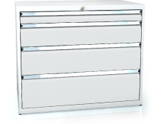 Drawer cabinet 840 x 1014 x 600 - 4x drawers