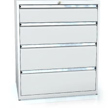 Drawer cabinet 1018 x 860 x 600 - 4x drawers
