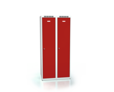 Cloakroom locker reduced height ALDUR 1 1500 x 700 x 500