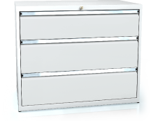 Drawer cabinet 840 x 1014 x 750 - 3x drawers