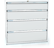 Drawer cabinet 1018 x 1014 x 750 - 4x drawers