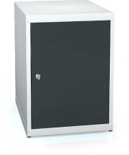 UNI line cabinet for workbenches 662 x 480 x 600 - door