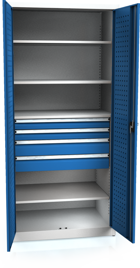 System cupboard PROFI 1950 x 920 x 600 - shelves-drawers