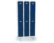 Divided cloakroom locker ALDOP with feet 1920 x 900 x 500