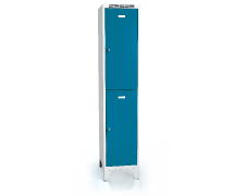 Divided cloakroom locker ALSIN with feet 1920 x 400 x 500