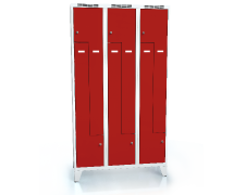 Cloakroom locker Z-shaped doors ALDOP with feet 1920 x 1050 x 500