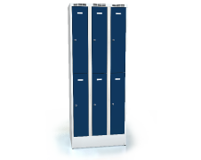 Divided cloakroom locker ALSIN 1920 x 750 x 500