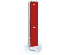 Divided cloakroom locker ALDUR 1 1920 x 350 x 500