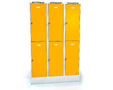 Divided cloakroom locker ALDUR 1 1920 x 1200 x 500
