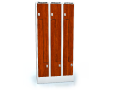 Cloakroom locker Z-shaped doors ALDERA 1920 x 900 x 500