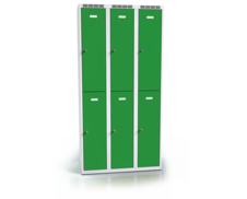Divided cloakroom locker ALDOP 1800 x 900 x 500