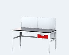 ALGERS Workbench - 1220 - 1460 x 1600 x 700 - container - perfo