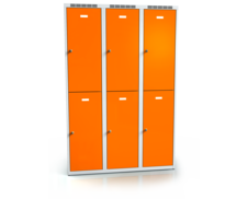 Divided cloakroom locker ALDUR 1 1800 x 1200 x 500