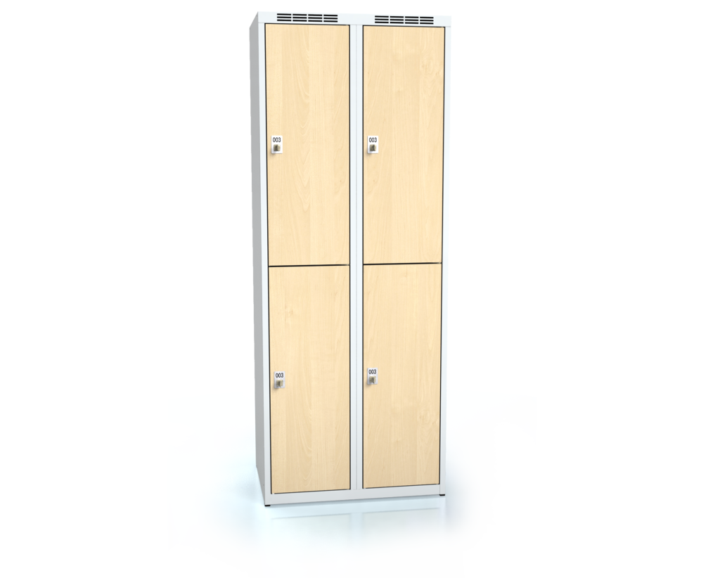 Divided cloakroom locker ALDERA 1800 x 700 x 500
