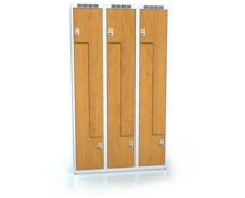 Cloakroom locker Z-shaped doors ALDERA 1800 x 1050 x 500