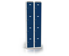 Cloakroom locker with eight lockable boxes ALSIN 1800 x 600 x 500