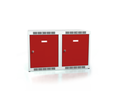Additional cabinets for cloakroom lockers ALSIN 490 x 800 x 500