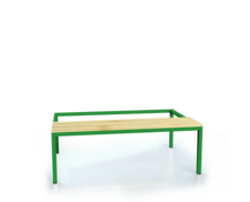Benches with spruce sticks - basic version 375 x 1050 x 800