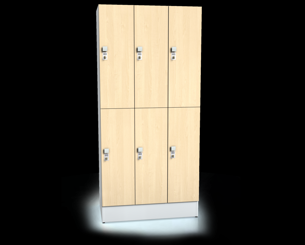 Divided premium lockers ALFORT DD 1920 x 1200 x 520