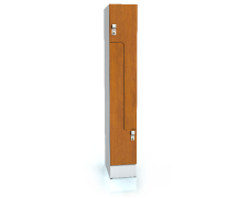 Premium lockers Z-shaped doors ALFORT DD 1920 x 300 x 520