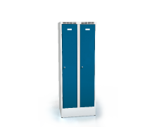 Cloakroom locker reduced height ALDUR 1 1620 x 600 x 500