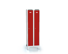 Cloakroom locker reduced height ALDOP with feet 1620 x 500 x 500
