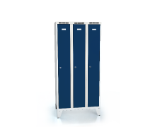 Cloakroom locker reduced height ALDOP with feet 1620 x 750 x 500