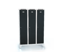 Cloakroom locker reduced height ALDOP with feet 1620 x 1050 x 500