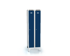Cloakroom locker reduced height ALSIN with feet 1620 x 500 x 500