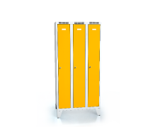 Cloakroom locker reduced height ALSIN with feet 1620 x 750 x 500