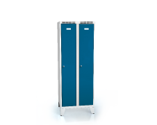 Cloakroom locker reduced height ALSIN with feet 1620 x 600 x 500