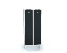 Cloakroom locker reduced height ALDUR 1 with feet 1620 x 700 x 500