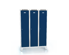 Cloakroom locker reduced height ALDUR 1 with feet 1620 x 1050 x 500