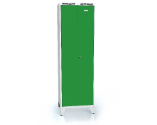 High volume cloakroom locker ALDUR 1 with feet 1920 x 600 x 500