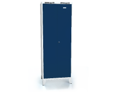 High volume cloakroom locker ALDUR 1 with feet 1920 x 700 x 500