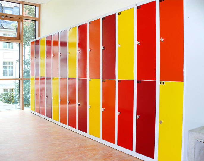 Garment Lockers for Coburg School