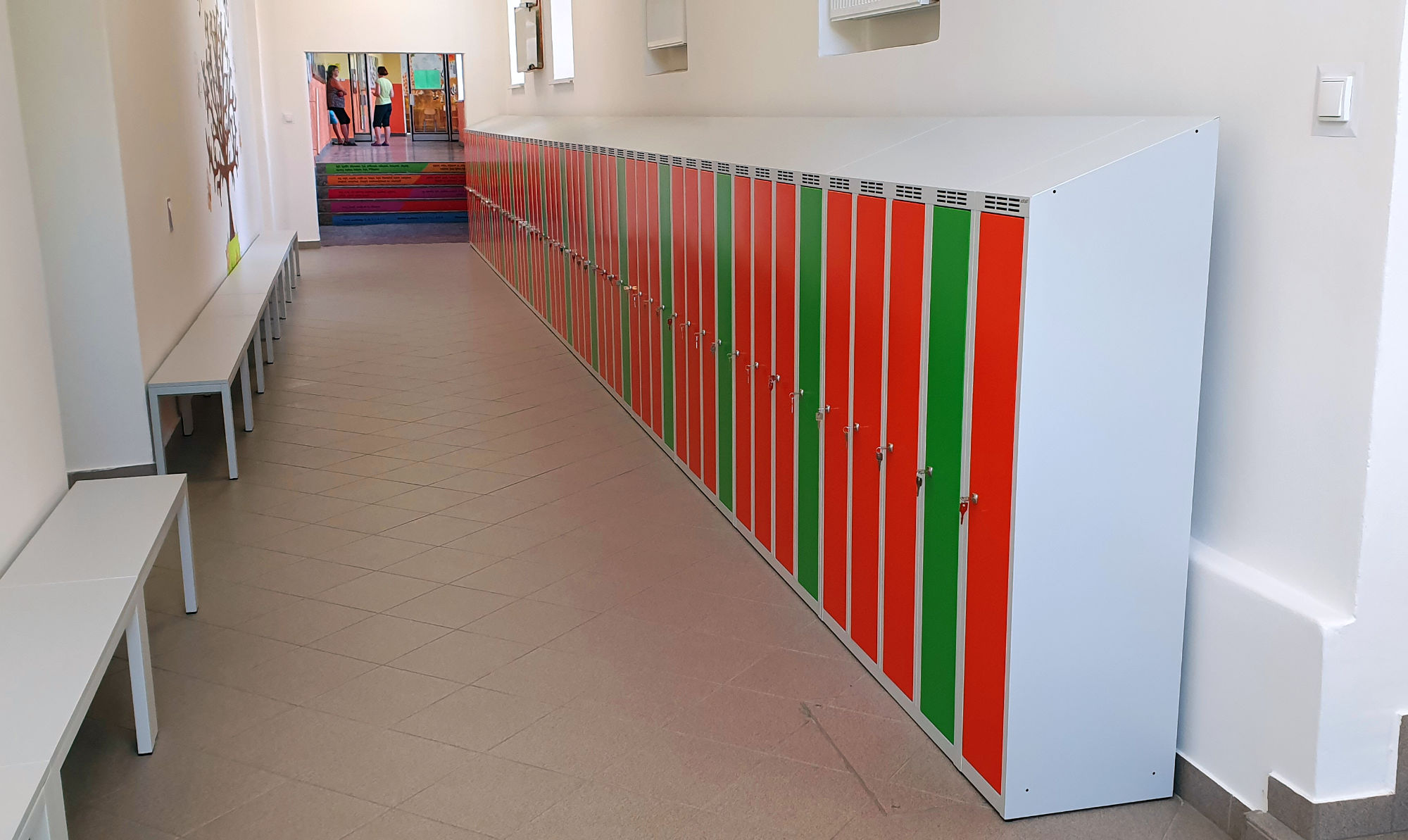 Changing Room Equipment for Chrast Primary School